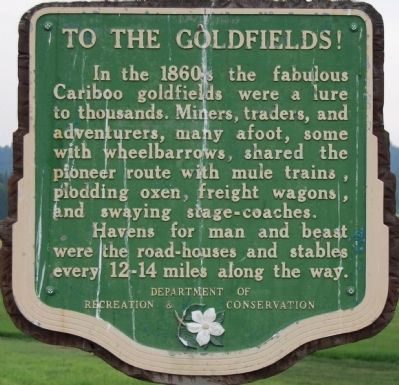 To the Goldfields! Marker image. Click for full size.