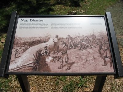 Near Disaster Marker image. Click for full size.