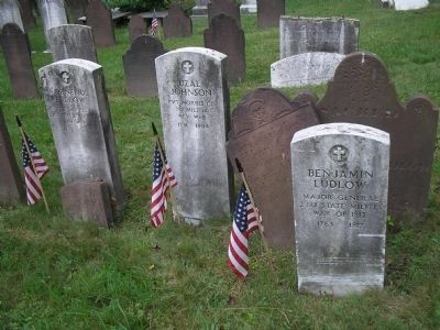Revolutionary War Soldier Graves image. Click for full size.