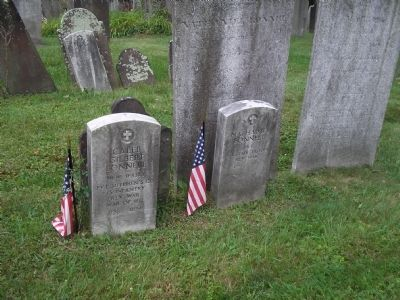 More Revolutionary War Soldier Graves image. Click for full size.