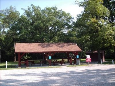 Pavilion at Marker location Photo, Click for full size