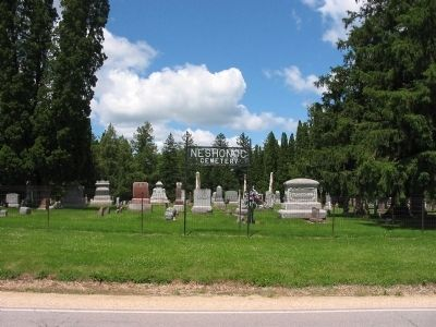 Neshonoc Cemetery image. Click for full size.
