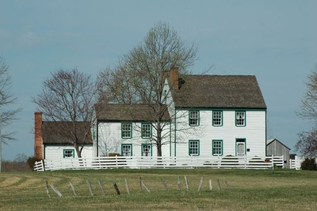 Home of Dr. Samuel Mudd image. Click for full size.