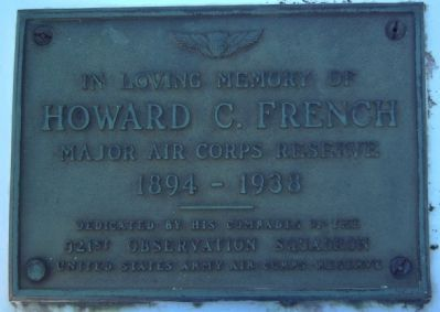 Howard C. French Marker image. Click for full size.