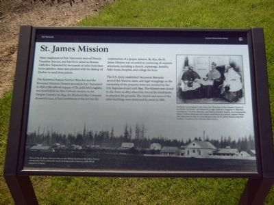 St. James Mission Marker image. Click for full size.