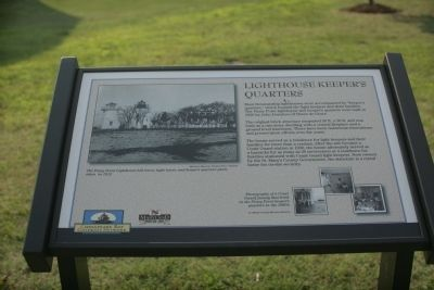 Lighthouse Keeper's Quarters Marker image. Click for full size.