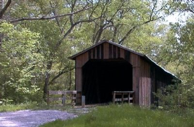 Howard's Covered Bridge Photo, Click for full size