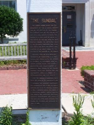 """ The Sundial "" Marker image. Click for full size."