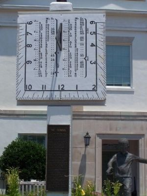 """ The Sundial "" Marker Photo, Click for full size"