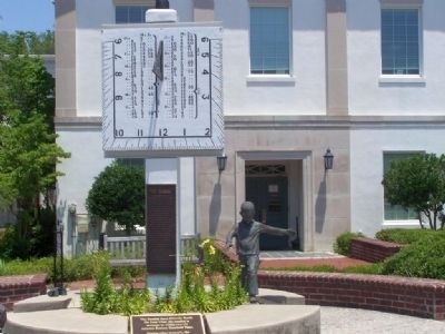 """ The Sundial "" at Barnwell County Court House Photo, Click for full size"