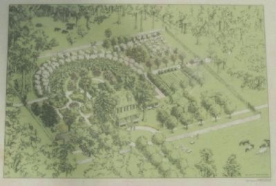Woodmanston Plantation on-site artist 's concept image. Click for full size.
