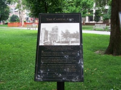 The Capital City Marker image. Click for full size.