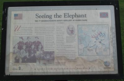 Seeing the Elephant Marker image. Click for full size.