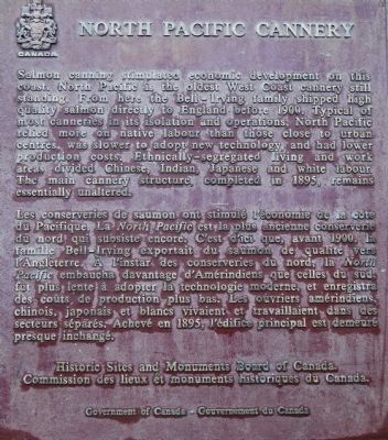 North Pacific Cannery Marker image. Click for full size.
