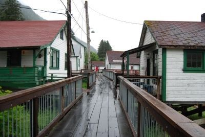 Boardwalk at North Pacific Cannery image. Click for full size.