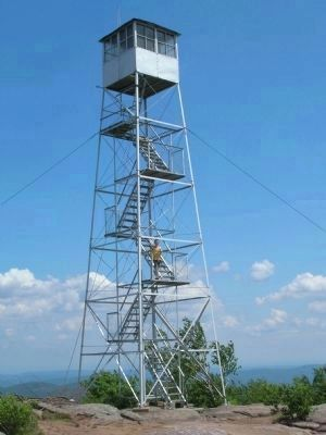 Hadley Mountain Fire Tower image. Click for full size.