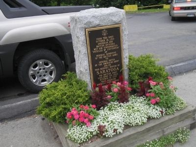 Schuylerville Marker image. Click for full size.