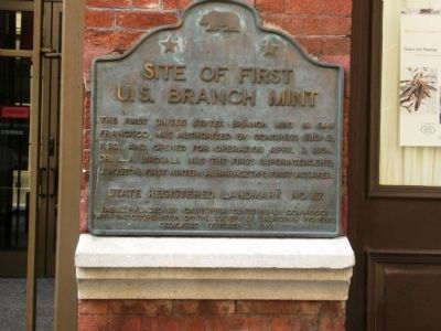 First U.S. Branch Mint Marker Photo, Click for full size