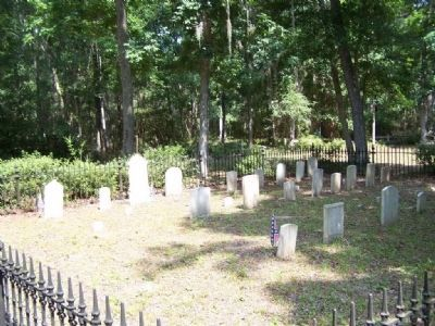 Sunbury Cemetery , partial view image. Click for full size.