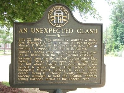 An Unexpected Clash Marker image. Click for full size.