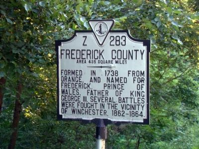 Frederick County Face of Marker image. Click for full size.