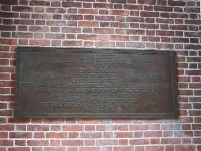 Memorial to the Soldiers and Patriots of the Revolution Marker image. Click for full size.