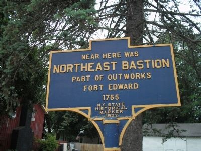 Northeast Bastion Marker Photo, Click for full size