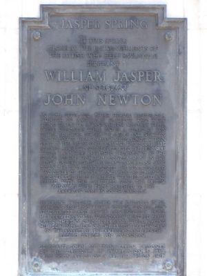 Jasper Spring Marker Photo, Click for full size