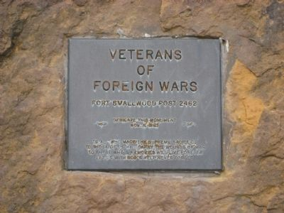 Veterans of Foreign Wars Marker image. Click for full size.