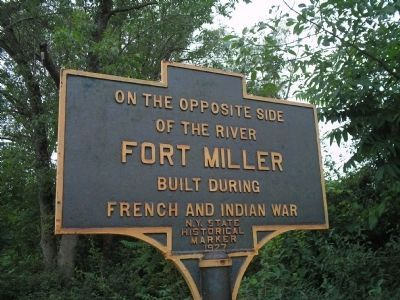 Fort Miller Marker Photo, Click for full size