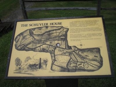 The Schuyler House Marker image. Click for full size.