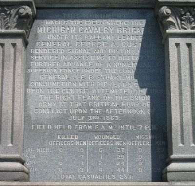 Left Face of Monument Photo, Click for full size