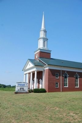 Barkers Creek Baptist Church -<br>Main Sanctuary (1972) image. Click for full size.