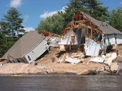 Destroyed Homes Photo, Click for full size