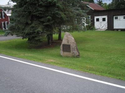 Marker on Lake Road image. Click for full size.