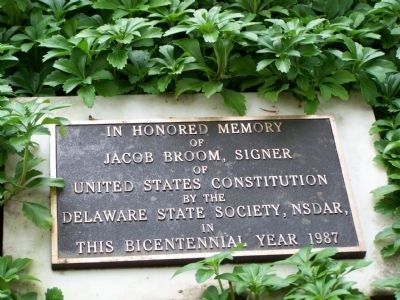 Jacob Broom Marker image. Click for full size.