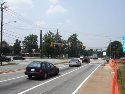 Intersection of Briarcliff Road and North Druid Hills Road image. Click for full size.