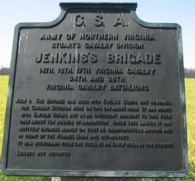 Jenkins's Brigade Tablet Photo, Click for full size