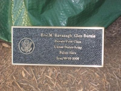 Eric M. Kavanagh Marker image. Click for full size.