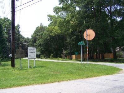 Nicholsonboro Marker looking south on Coffee Point Road image. Click for full size.