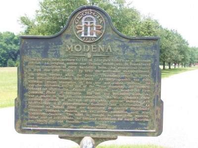 Modena Marker image. Click for full size.