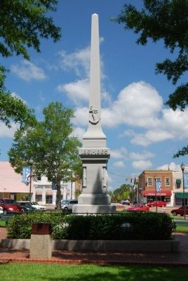 Abbeville County Confederate Monument - South Photo, Click for full size
