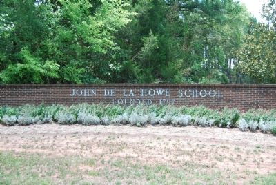 John De La Howe School Entrance image. Click for full size.
