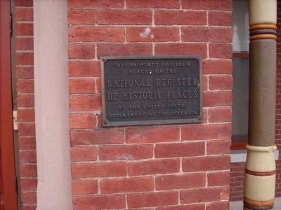 National Register - - Museum Marker image. Click for full size.