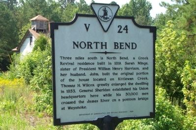 North Bend Marker image. Click for full size.