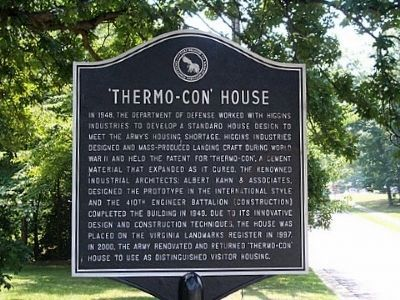 'Thermo-Con' House Marker image. Click for full size.