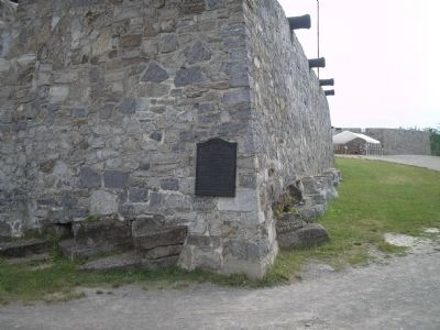Marker at Fort Ticonderoga image. Click for full size.
