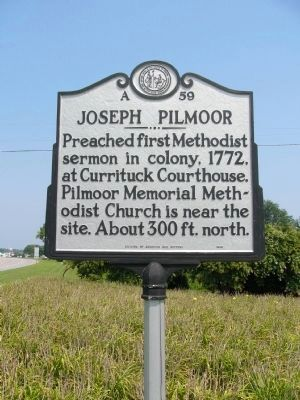 Joseph Pilmoor Marker Photo, Click for full size
