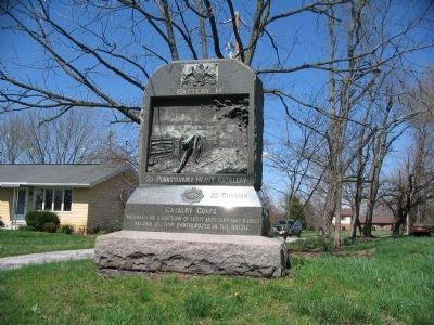 Battery H, 3d Pennsylvania Heavy Artillery Monument image. Click for full size.
