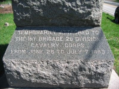 Inscription on Right Footing of Monument image. Click for full size.